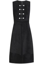 Замшевое платье Proenza Schouler