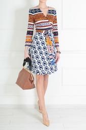 Шелковое платье Amelia Diane von Furstenberg