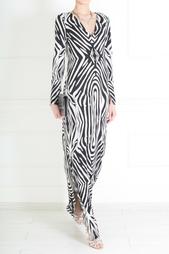 Шелковое платье Mazel Diane von Furstenberg