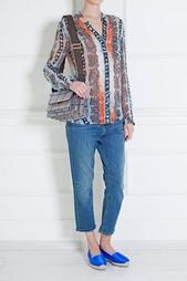 Шифоновая блузка Gilmore Print Chiffon Diane von Furstenberg
