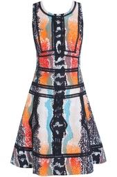 Платье из хлопка и льна Margot Diane von Furstenberg