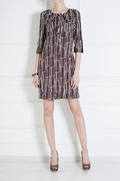 Шелковое платье Sadie Diane von Furstenberg