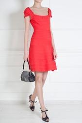 Платье из вискозы Alana Hervé Léger