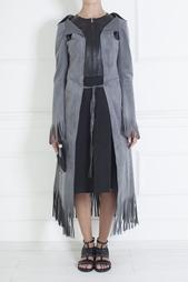 Пальто из искусственной замши Junya Watanabe
