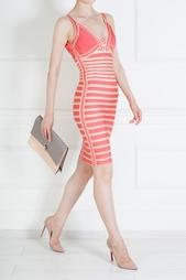 Платье из вискозы Nikole Hervé Léger