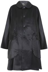 Пальто из шерсти и шелка Comme des Garcons