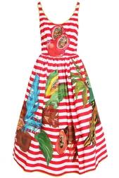 Платье из полиэстера Stella Jean