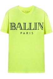 Хлопковая футболка Ballin Brian Lichtenberg