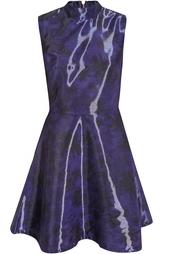 Платье из вискозы и нейлона Markus Lupfer