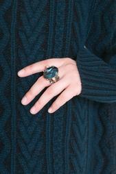 Кольцо из олова и кристаллов ПЕРЕСОРТ Oscar de la Renta