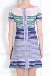 Платье из вискозы Liza Hervé Léger