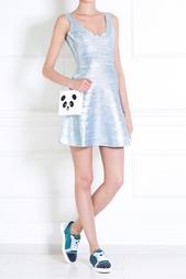 Платье из вискозы Eva Hervé Léger
