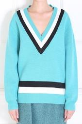 Шерстяной пуловер Jonathan Saunders