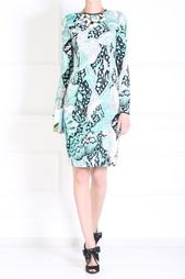 Платье из искусственного шелка Jonathan Saunders