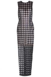 Платье из полиэстера Jonathan Saunders