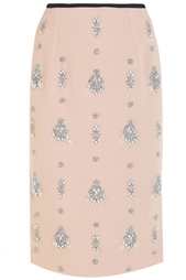 Шерстяная юбка Erdem