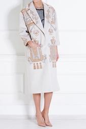 Шерстяное пальто Holly Fulton