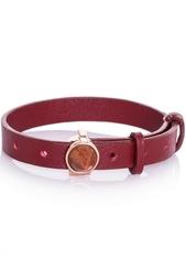 Кожаный браслет Eddie Borgo