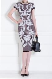 Платье из вискозы Emely Hervé Léger