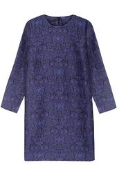 Платье из хлопка и шелка Anna Mother of Pearl