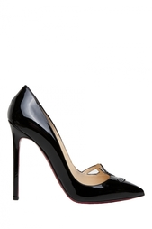 Черные Туфли SEX 120 Patent Calf/Strass Christian Louboutin