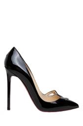 Черные Туфли SEX 120 Patent Calf/Strass Christian Louboutin