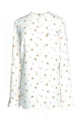 Шелковая блуза с цветочным принтом Equipment Femme