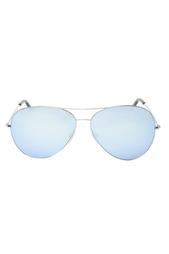 Очки-авиаторы с зеркальными линзами Victoria Beckham