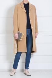 Пальто из шерсти и меха No.21
