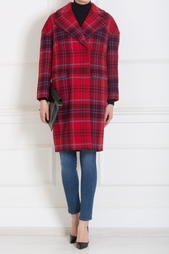 Шерстяное пальто Stella Jean