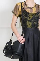 Кожаная сумка Sutra Metro Diane von Furstenberg