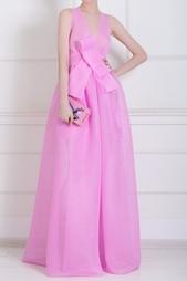 Платье из перфорированной ткани A.W.A.K.E.