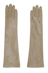 Кожаные перчатки Rochas