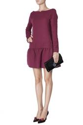 Шерстяное платье Victoria Beckham