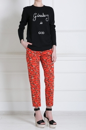 Хлопковые брюки Stella Jean