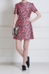 Платье с цветочным принтом House of Holland