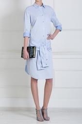 Хлопковое платье T by Alexander Wang