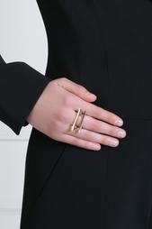 Кольцо из латуни с золотым напылением Pamela Love