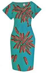 Хлопковое платье Stella Jean