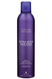 Лак сильной фиксации Caviar Anti-Aging Extra-Hold Hair Spray 400ml Alterna