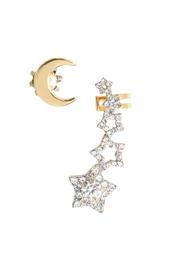 Серьги из латуни с кристаллами Juicy Couture