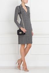 Кожаная сумка 440 Gallery Transit Mini Diane von Furstenberg