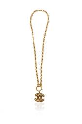 Винтажная цепочка с кулоном (90-е) Chanel Vintage