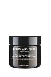 Ночной крем для лица «Нейропептид и фиалка» 60ml Grown Alchemist