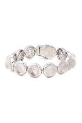 Посеребренный браслет с кристаллами Eddie Borgo