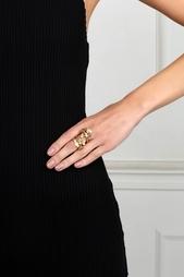 Позолоченное кольцо Oscar de la Renta