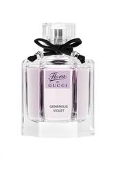 Туалетная вода Flora Generous Violet 50ml Gucci