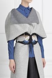 Кожаный ремень с вышивкой Olympia Le Tan