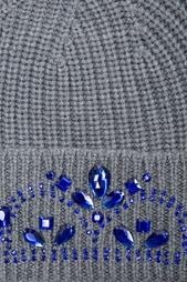 Шапка из шерсти мериноса с кристаллами Markus Lupfer