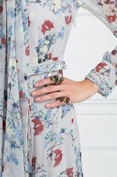 Кольцо с кристаллом Swarovski Gucci